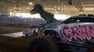 Car Eating Dinosaur - The Carpetbagger Does Monster Trucks