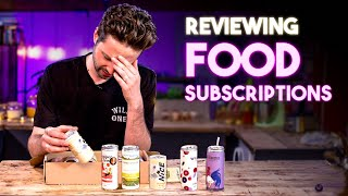 Reviewing Monthly Food Subscriptions Vol.2  SORTEDfood