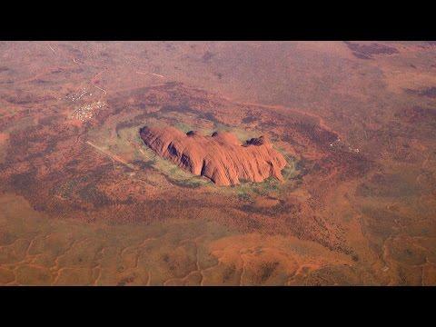 Ayers Rock Uluru to Alice Springs Airport Landing
