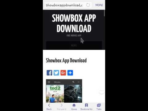 how to add showbox app
