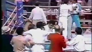 Boxing Referee Attacked :1988 SUMMER OLYMPICS SEOUL KOREA