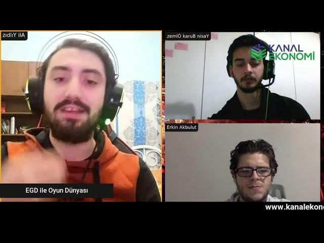 EGD İle Oyun Dünyası / Üniversitede Oyun dünyasını Konuşuyoruz