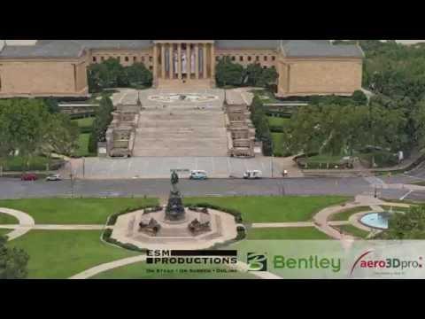 The City of Philadelphia 3D model - planning for the Pope's visit