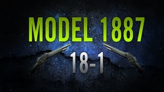 18 1 gold model 1887 mw3 search and destroy gameplay commentary