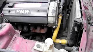 bmw e34 замена щеток генератора