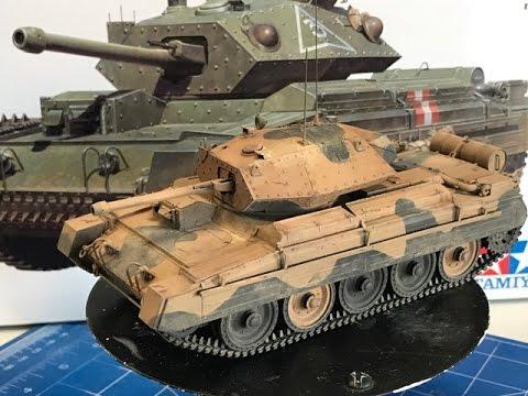 Building the Tamiya 1/35 Crusader Mk III  Cruiser tank