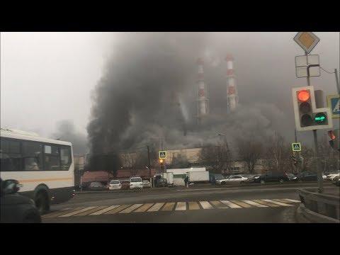 Пожар в Строгино. 18 ноября 2019 г.