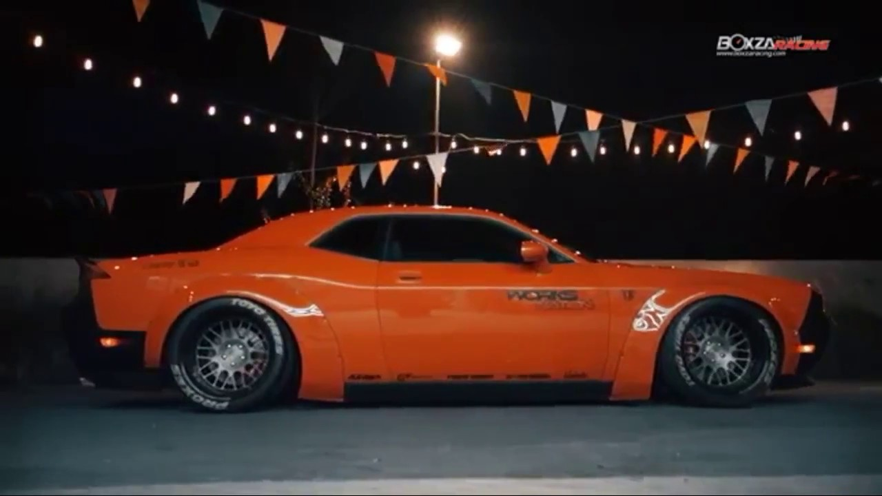Dodge Challenger Srt8 Liberty Walk Youtube