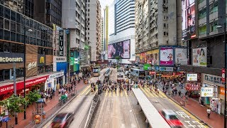 Hong Kong residents oppose foreign interference in China's affairs