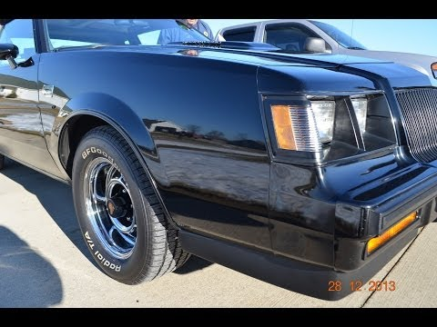 1987 Buick Grand National for sale one owner Ann Arbor Michigan auto appraisal 800-301-3886