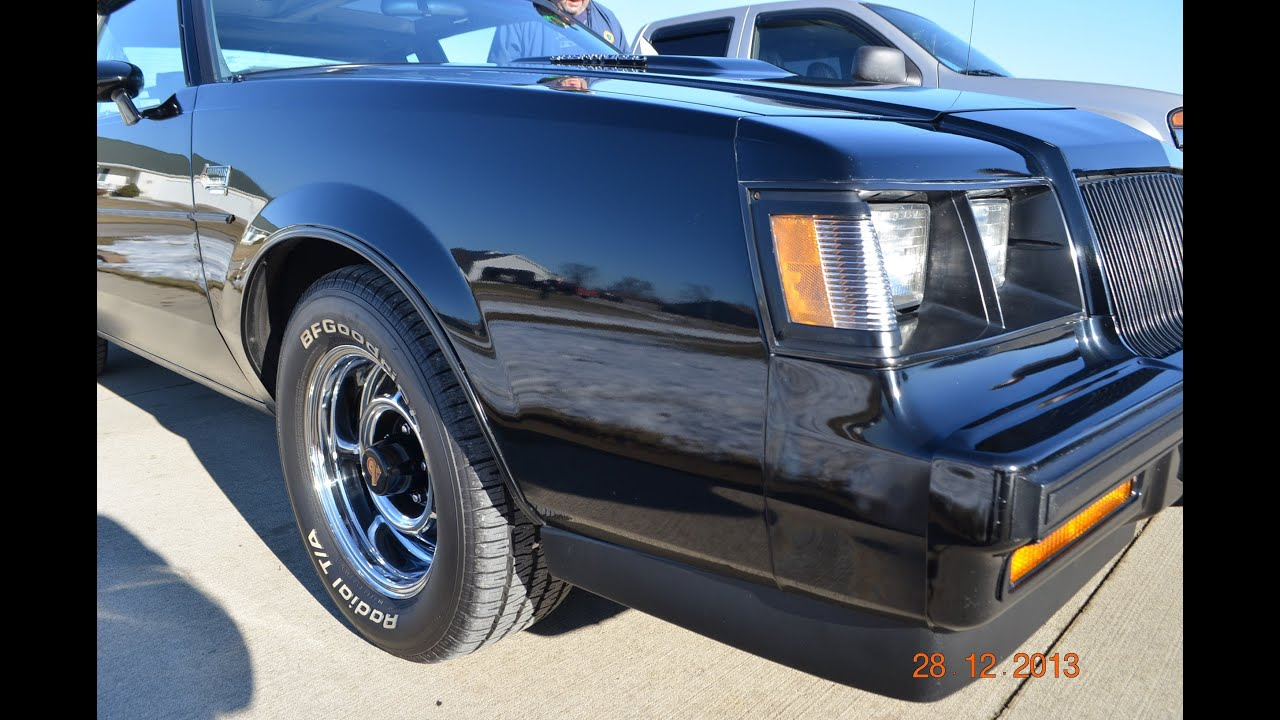 1987 Buick Grand National for sale one owner Ann Arbor Michigan ...