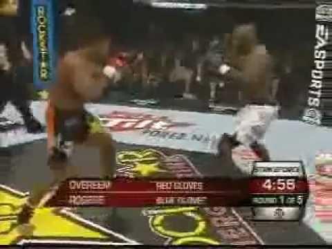 ALISTAIR OVEREEM vs BRETT ROGERS FULL FIGHT