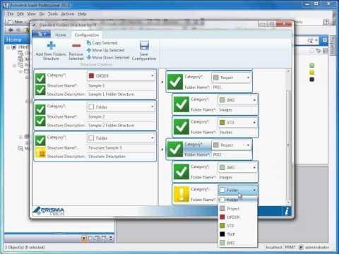 Autodesk Exchange Store: Standard Folders Structure by PrismaTech