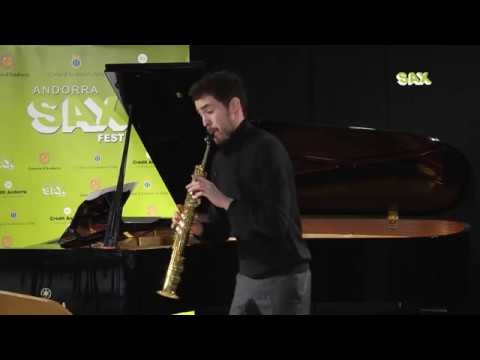 PAUL ANDRES LAMSTAES – 1st ROUND – V ANDORRA INTERNATIONAL SAXOPHONE COMPETITION 2018