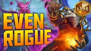 Even Rogue on the NA Legend Ladder | VOD | Hearthstone
