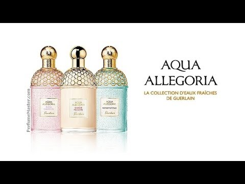 Guerlain Aqua Allegoria 2019 Editions New Perfumes Youtube