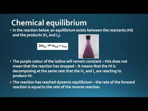 7.1.1 Outline the characteristics of chemical and physical systems in a state of equilibrium.
