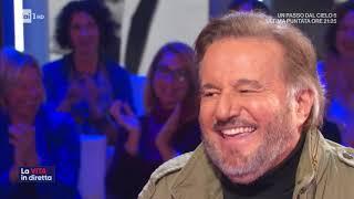 Christian De Sica, Star Gentiluomo   La Vita In Diretta 14/11/2019