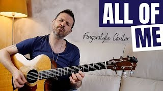 ALL OF ME // the Jazz Standard for fingerstyle guitar