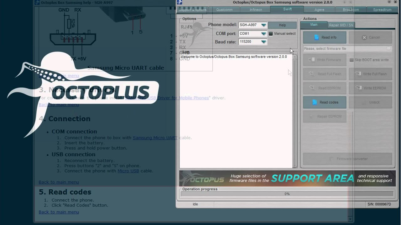 Octoplus / Octopus Box Samsung Software v 2 0 0 is out! - Octoplus