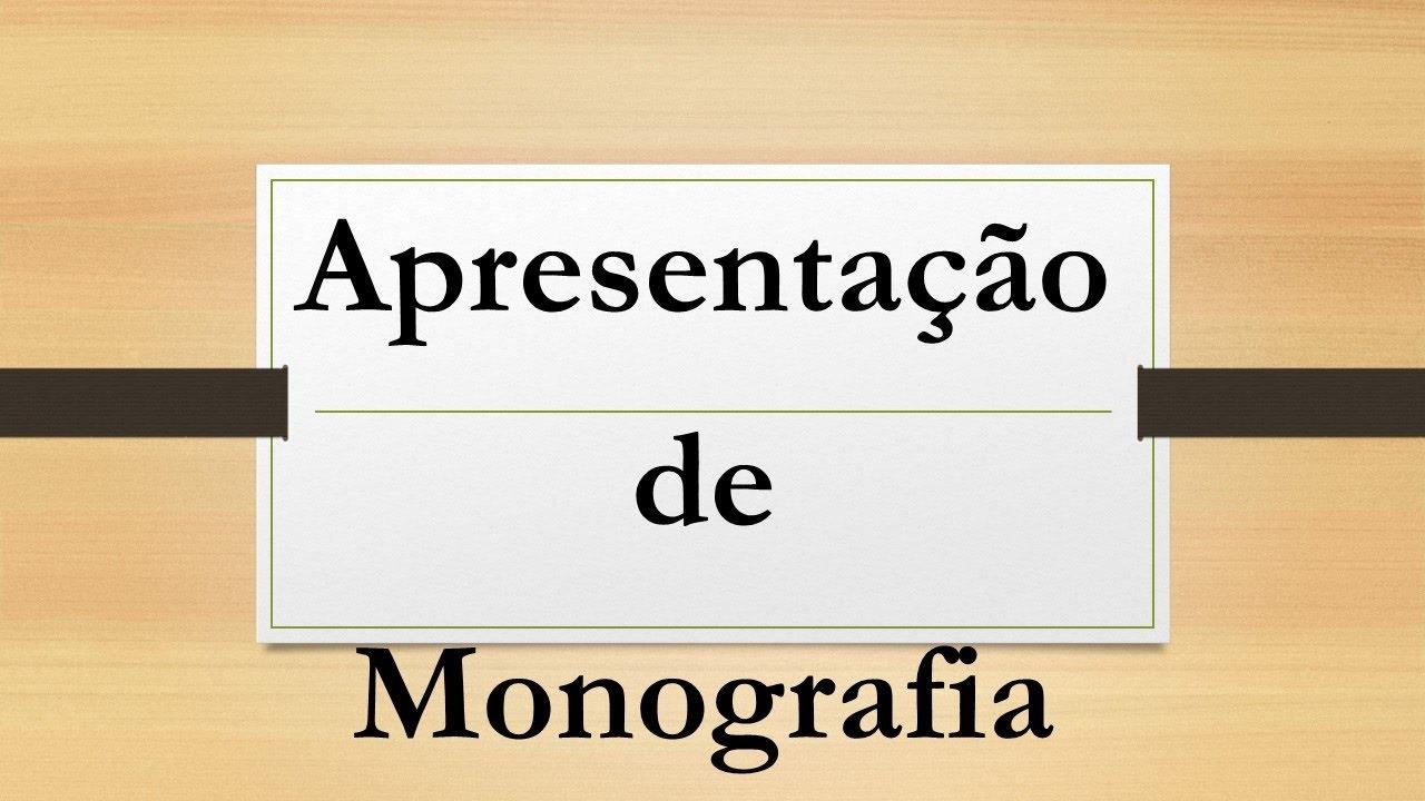 Defesa monografia
