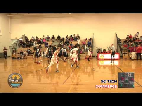 Springfield Hoops - GIRLS Commerce vs Sci Tech 12-15-2015