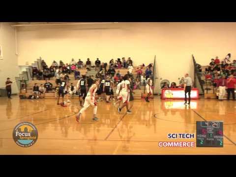 Girls Basketball - Commerce vs. Sci-Tech 12-15-15