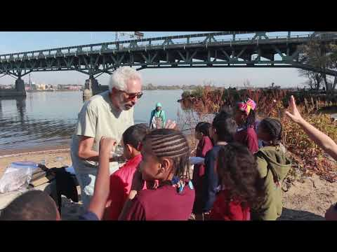 WHYY Education: Leap Academy Charter School Visits Palmyra Cove Nature Park