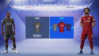 FIFA 19 - English Premier League Ratings & Kits
