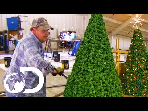ARTIFICIAL CHRISTMAS TREES | How It's Made