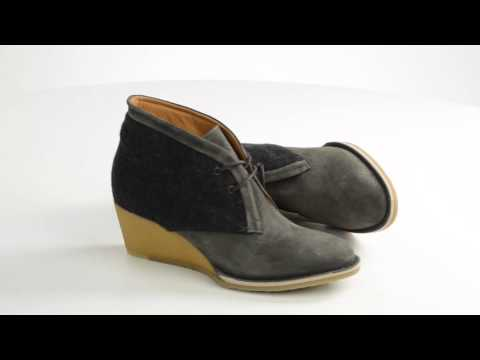 Lisa B. And Co. Wedge Ankle Boots - Suede, Lace-Ups (For Women)