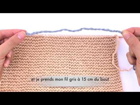 Phildar & WoolKiss - Tricotez votre écharpe