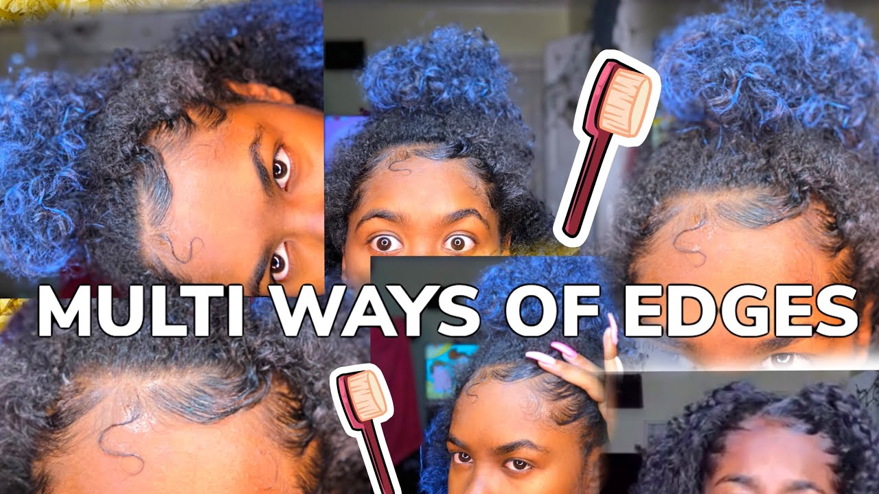How To Style Your Edges Multiple Ways
