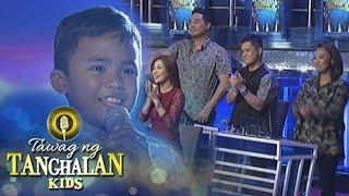 Tawag ng Tanghalan Kids: Francis gets a standing ovation