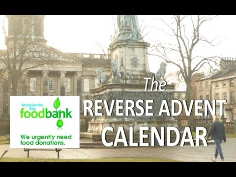 Morecambe Bay Foodbank The Reverse Advent Calendar Christmas 2017