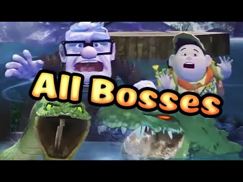 Disney Pixar's UP All Bosses | Final Boss (PS3, X360, Wii)