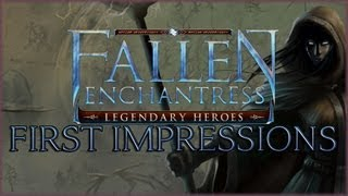 Fallen Enchantress: Legendary Heroes Gameplay Commentary - First Impressions/Review