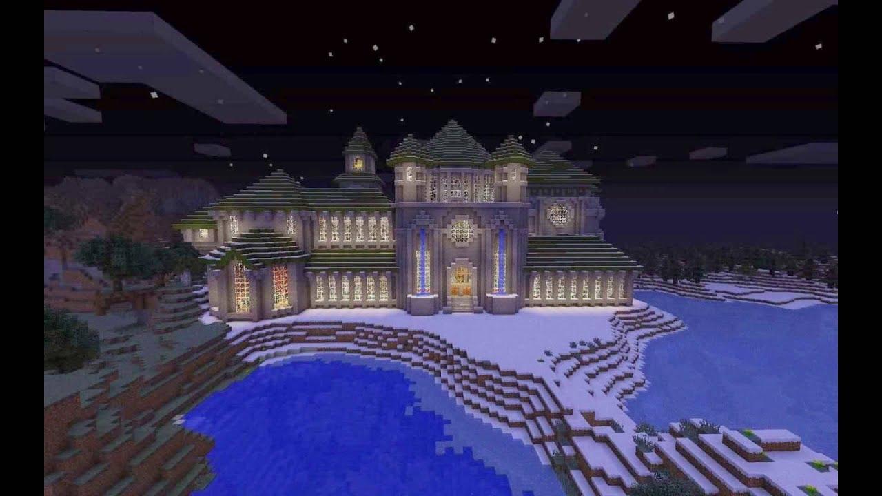 Minecraft Castle Ideas (Slideshow) - YouTube
