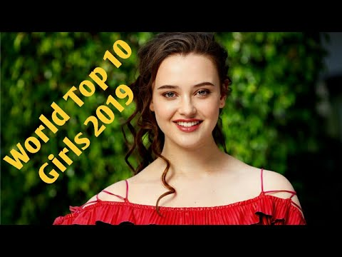 Most Beautiful Top 10  Girls of 2019 in the World.Top 10 Most Beautiful girls of 2019 in the world. thumbnail