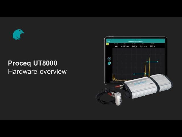 Hardware overview | Proceq UT8000