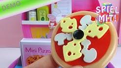 Peppa pig pizzeria playset carry case deutsch - Pizza backen mit Peppa Wutz