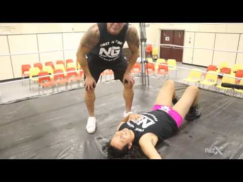 RezX TV: Wrestler, Wavell Starr teaches Cadmus Delorme the Ropes (Part 2 of 2)