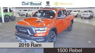 2019 Ram 1500 Rebel Review- Dick Hannah Ram Truck Center