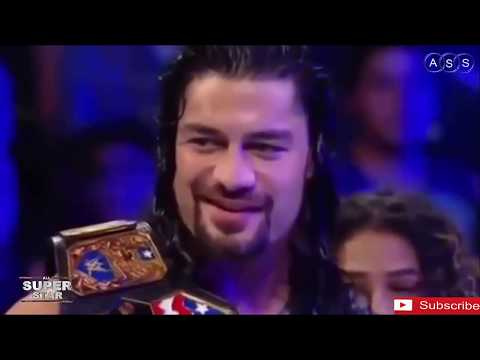 wwe roman reings vs Samoa Joe , Intercontinental Championship Match|Raw, thumbnail