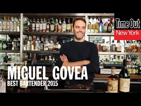 Time Out New York's Best Bartender 2015 finalist: Miguel Govea