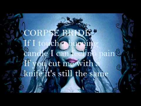 The Corpse Bride Tears To Shed Lyrics