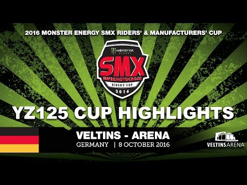 Yamaha YZ125 Cup Highlights VELTINS-Arena 2016