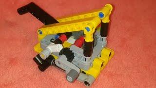 мини катапульта из лего техник.Обзоринструкция