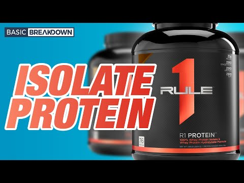 Rule 1 R1 Isolate Protein Powder Supplement Review | Basic Breakdown