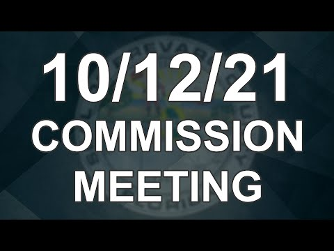 10/12/2021 - Brevard County Commission Meeting